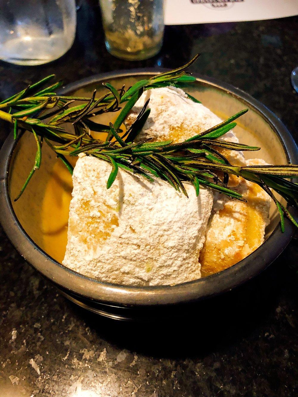 Goat Cheese Beignets