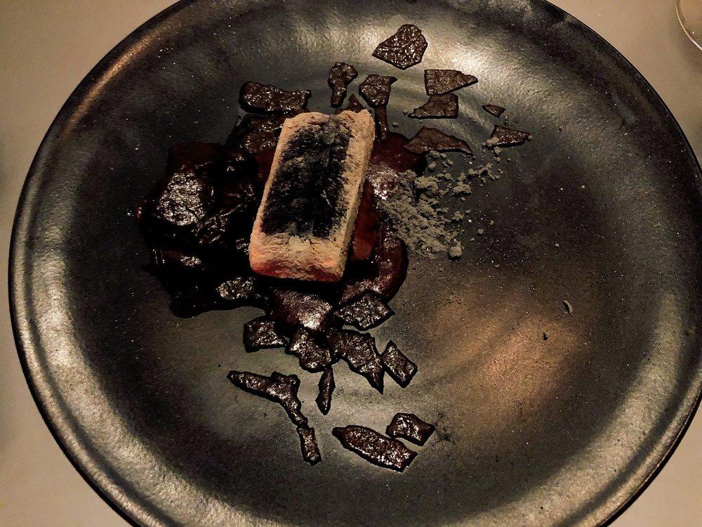 Coal | Squab + Forbidden Rice + Binchotan