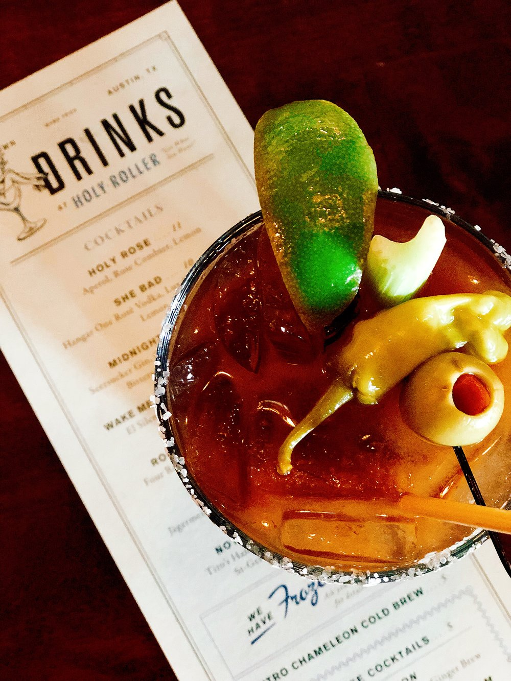 What's Brunch Without A Bloody Mary?