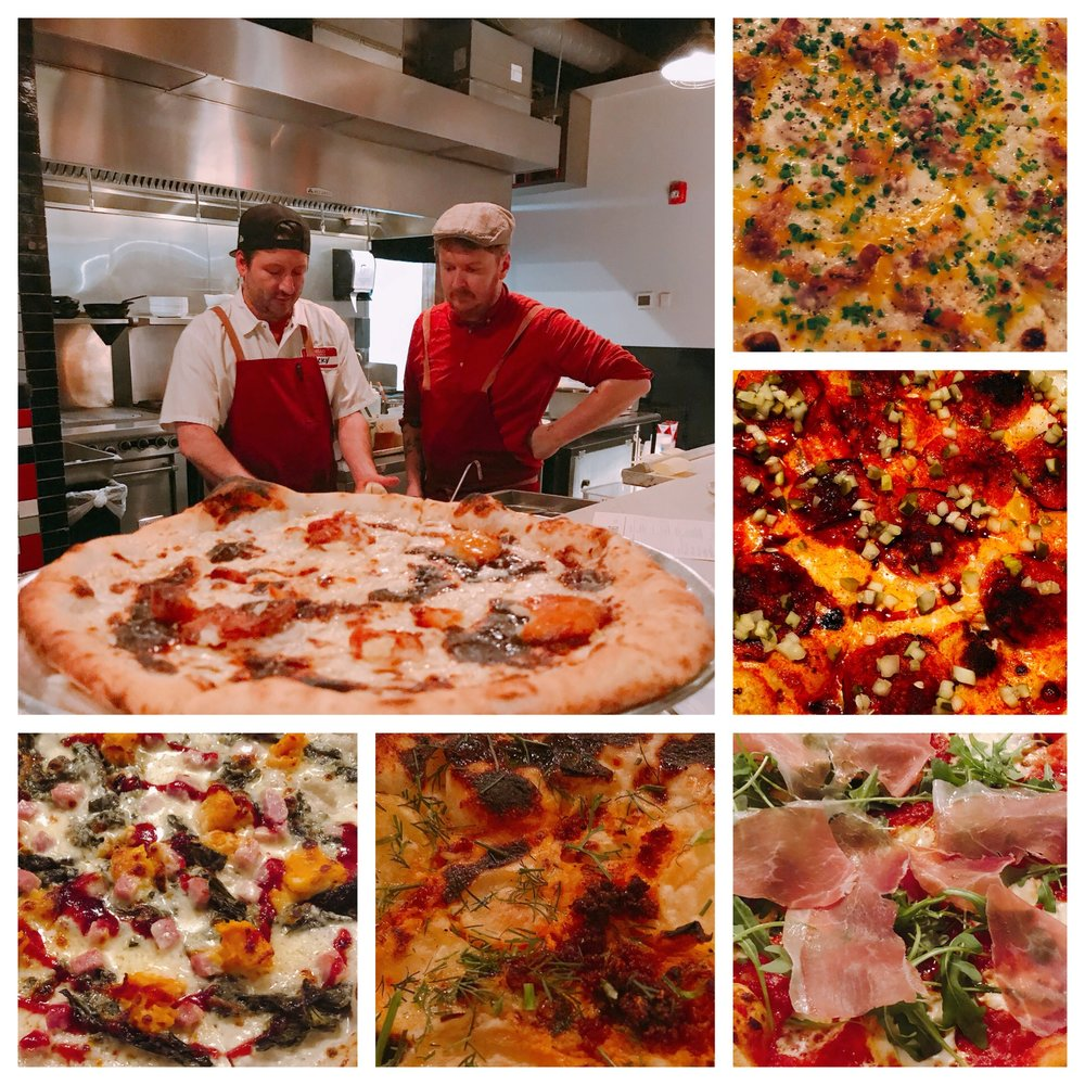 Highlights from 2018 Guest Pizza Chef Series