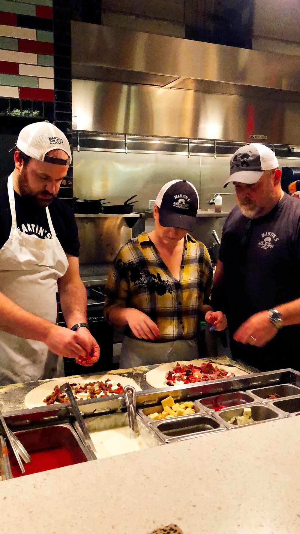 Pitmaster Pat And The Martins' Crew In The Kitchen
