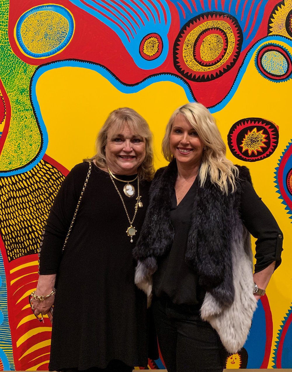 We Had To Snap A Mother Daughter Picture In Front Of This Brilliant Work