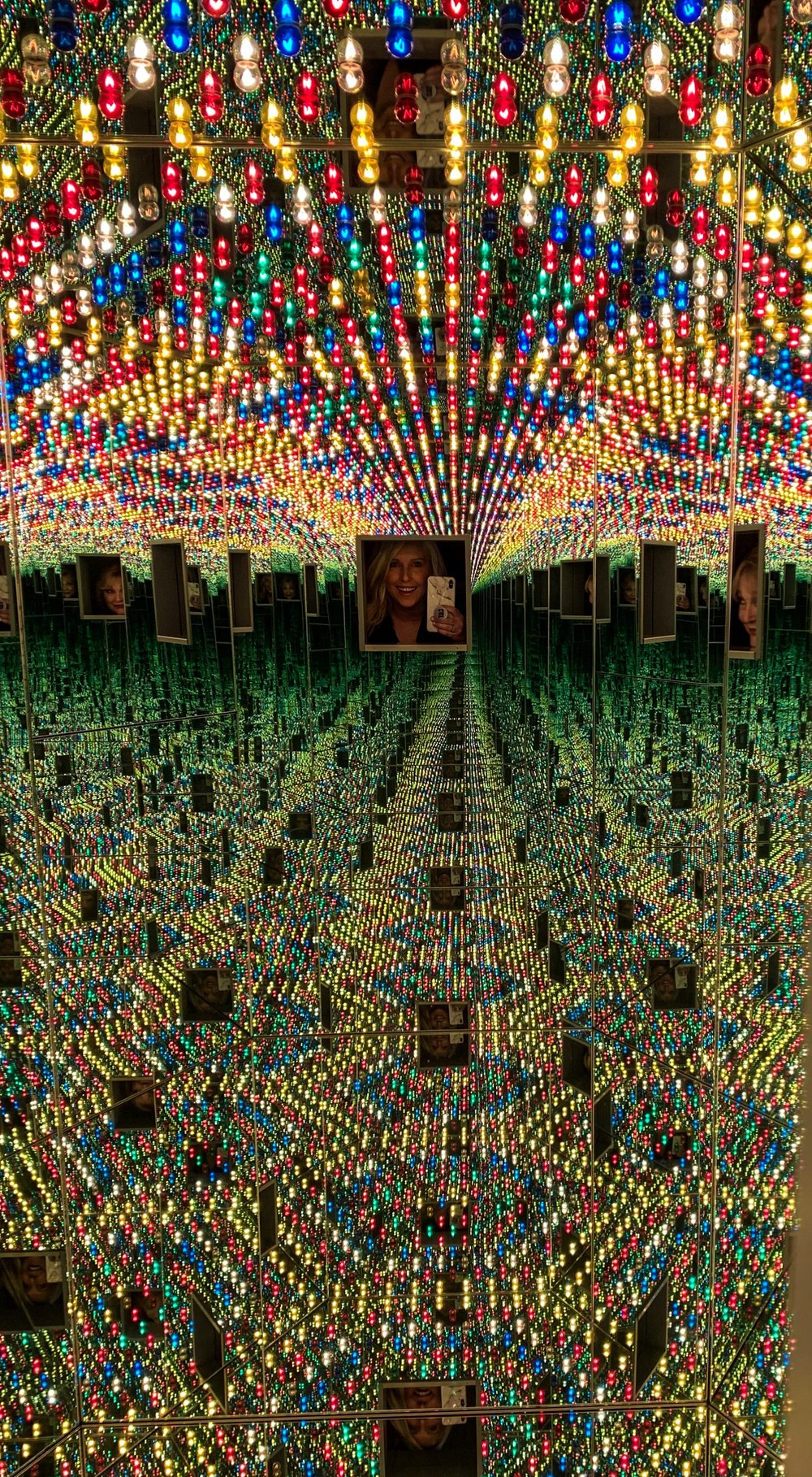 Infinity MIrror Room- Love Forever, 1966/1944
