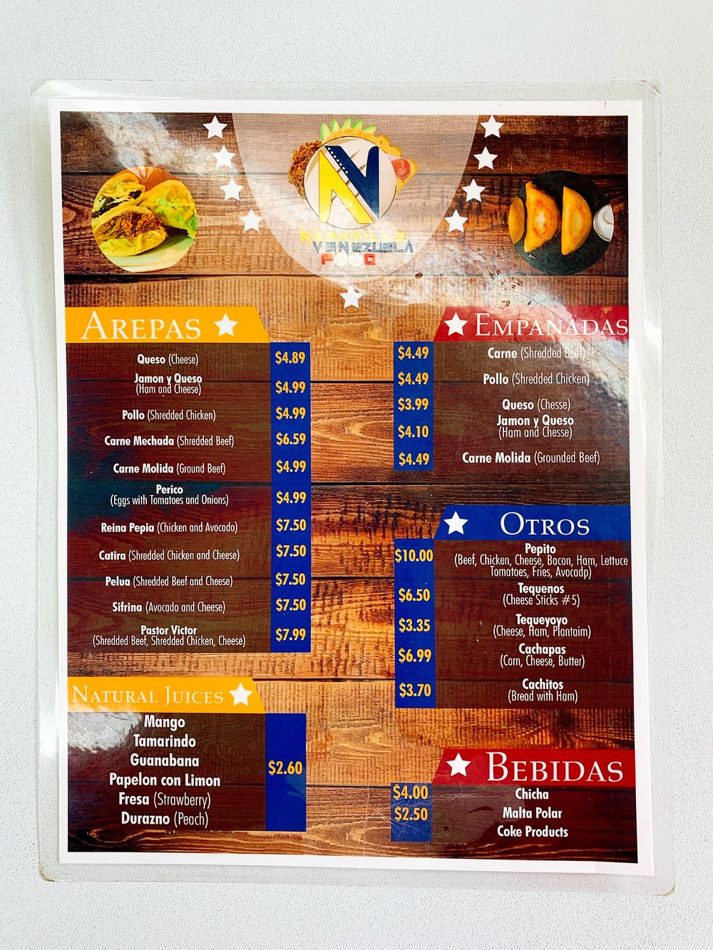 Menus Are Available With English Translation