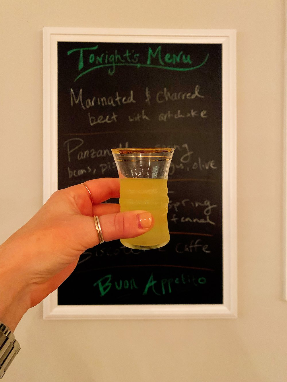 You Can't Have An Italian Feast Without Limoncello!