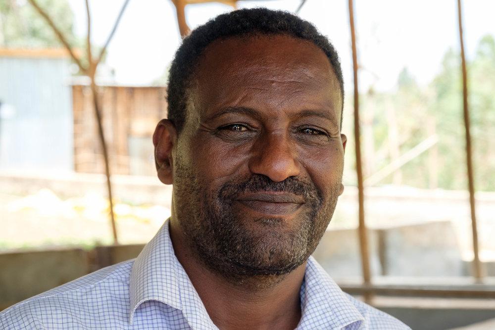 Samson Girma, Partnered Agronomist with Atkilt
