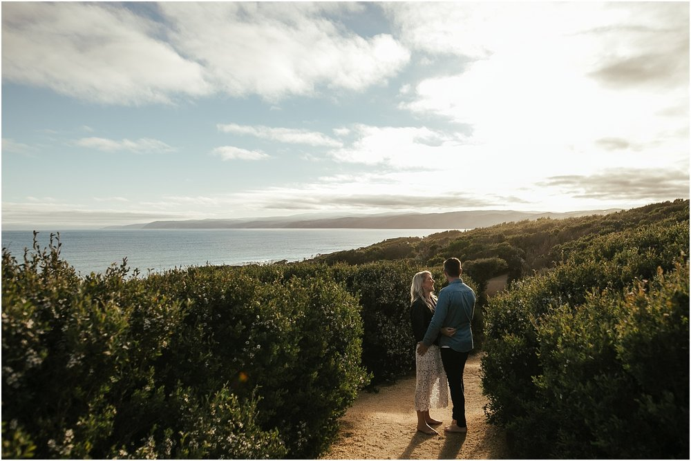 Greer and Sam's engagement shoot in Aireys Inlet on the Great Ocean Road, surf coast and Fairhaven._0004.jpg