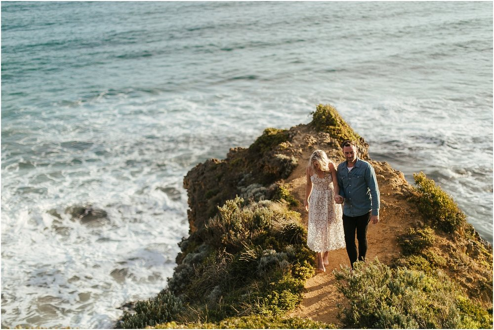 Greer and Sam's engagement shoot in Aireys Inlet on the Great Ocean Road, surf coast and Fairhaven._0023.jpg