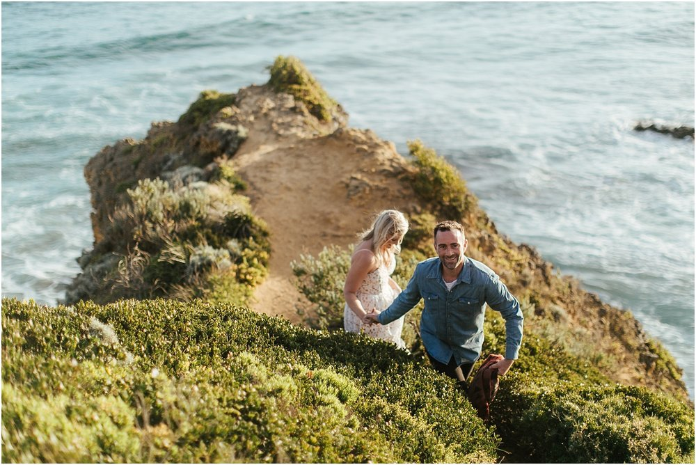 Greer and Sam's engagement shoot in Aireys Inlet on the Great Ocean Road, surf coast and Fairhaven._0024.jpg