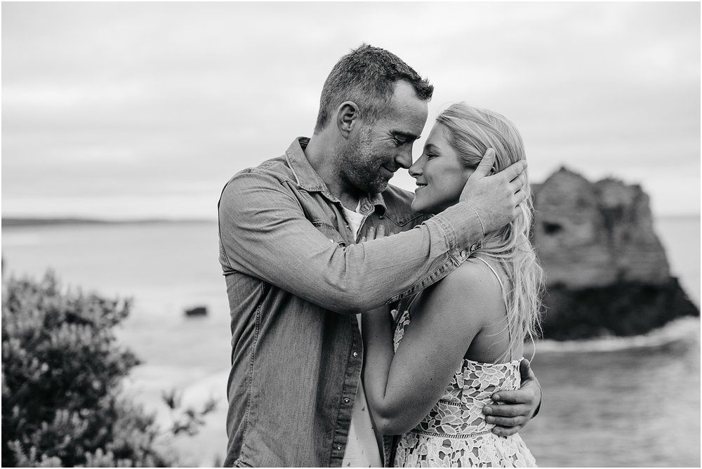 Greer and Sam's engagement shoot in Aireys Inlet on the Great Ocean Road, surf coast and Fairhaven._0054.jpg
