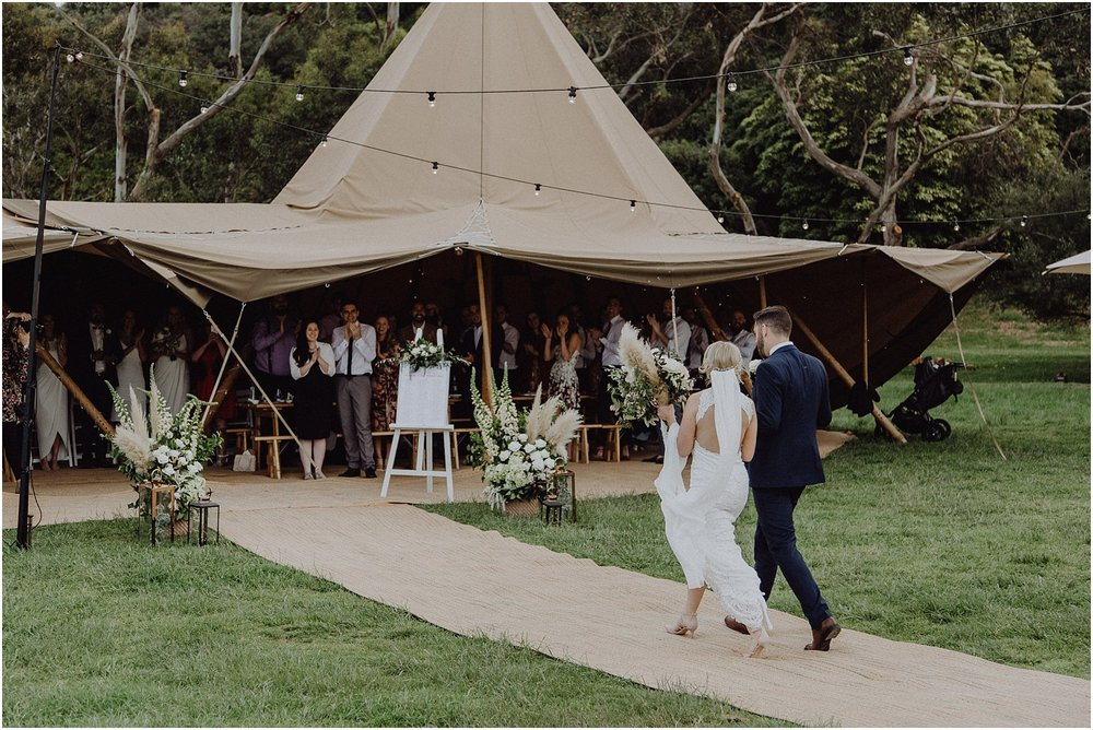 Nicolle and Damien's tipi wedding at the Flinders Yacht Club on the Mornington Peninsula._0160.jpg