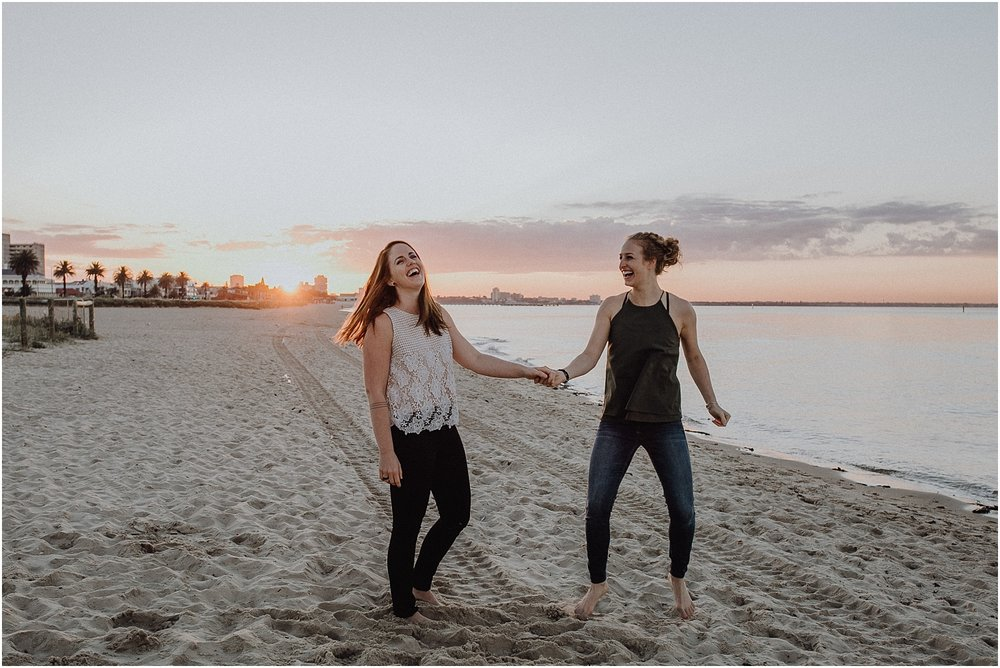 Kelsi and Lucy's sunrise proposal at Port Melbourne Lagoon Pier._0046.jpg