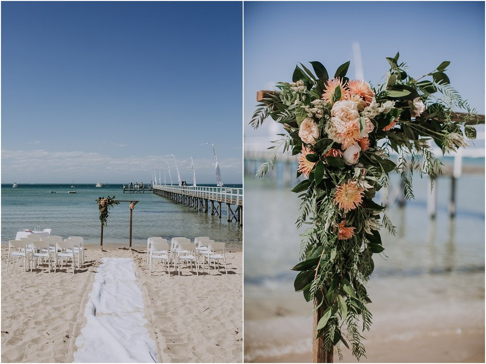 Kali and Simon's beach wedding at The Baths Sorrento on the Mornington Peninsula._0031.jpg