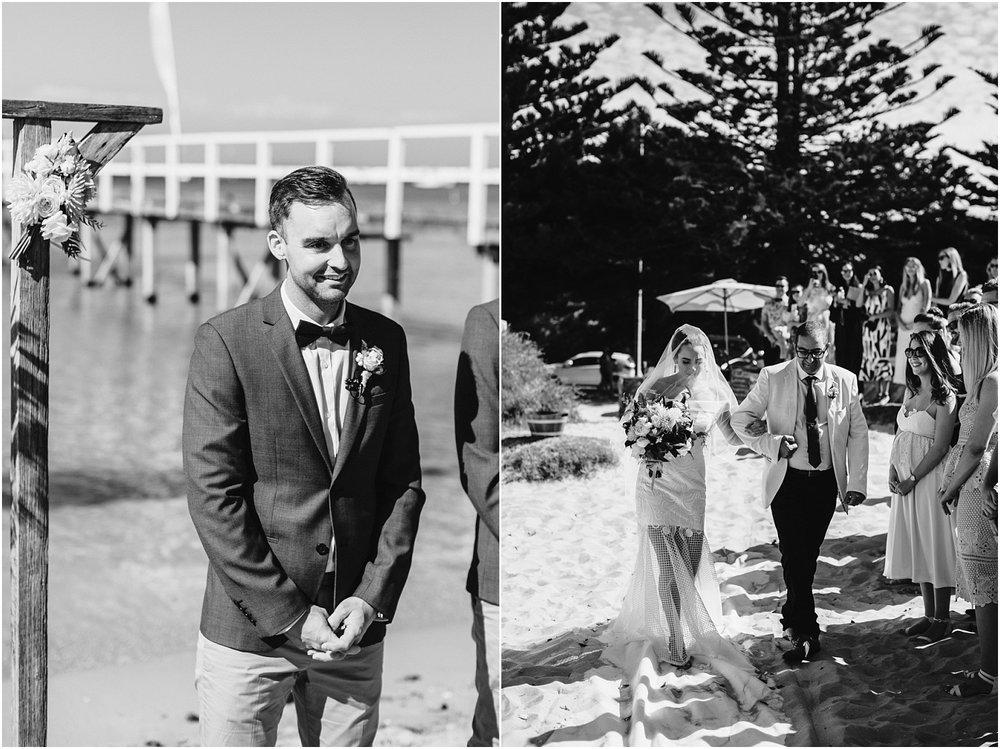 Kali and Simon's beach wedding at The Baths Sorrento on the Mornington Peninsula._0047.jpg
