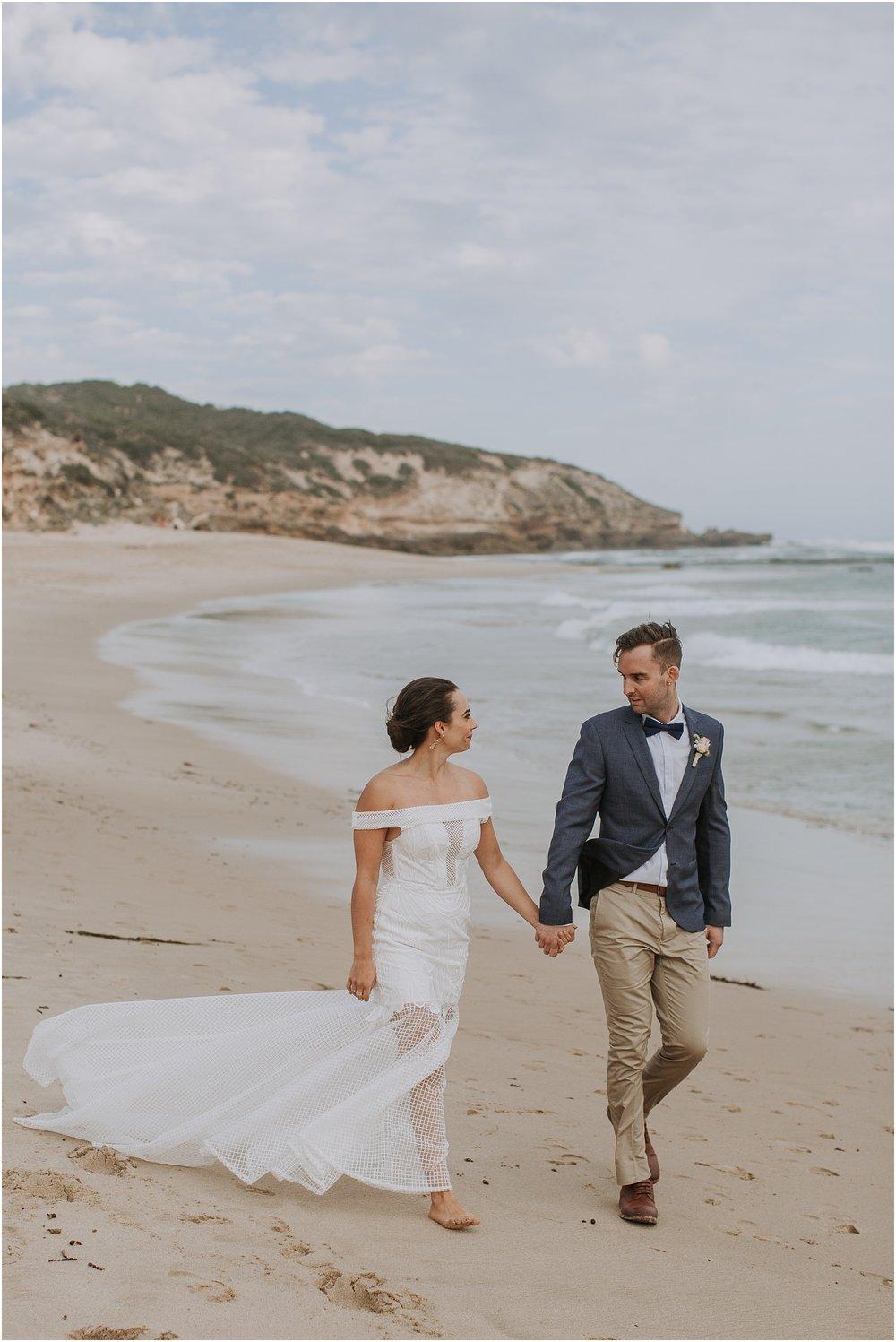 Kali and Simon's beach wedding at The Baths Sorrento on the Mornington Peninsula._0085.jpg