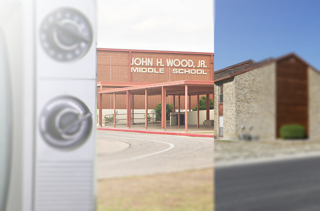 JCPenny UHF TV, Spoonman's Middle School, and the apartment complex he moved away from