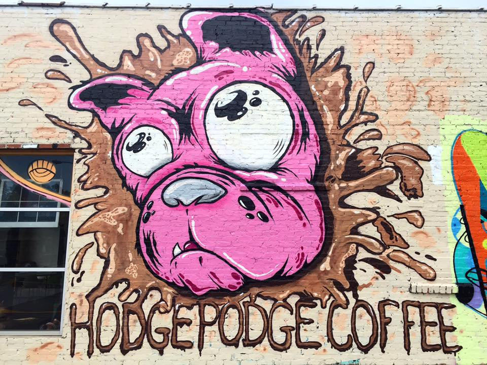 sQuishiepuss at Hodge Podge Coffee