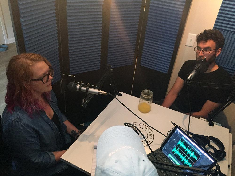 Flying Giants in the YDKM studio