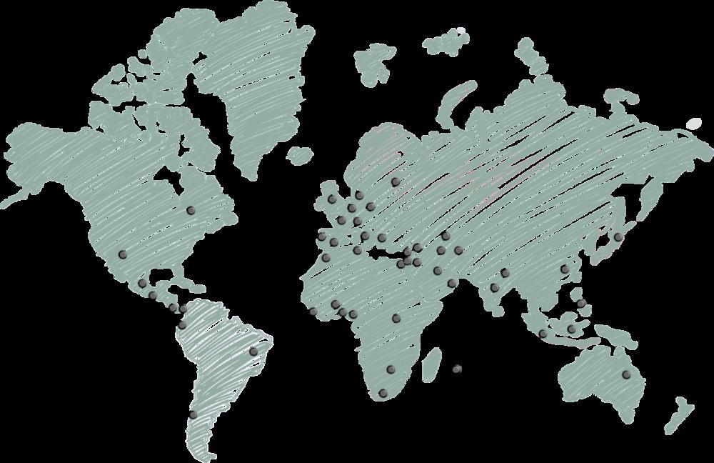 NOTRE COMMUNAUTÉ - Notre communauté riche en diversité inclut 2 000+ individus et organisations issus de ces trois secteurs, principalement basés à Montréal, QC, avec une proportion grandissante de participants internationaux (nous rejoignons actuellement 50+ pays sur 5 continents).