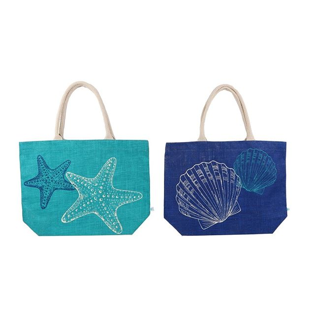 It might be too early to hit the sand, but these nautical totes will keep you in a beachy state of mind until then! http://ow.ly/SsIn30gJJhA