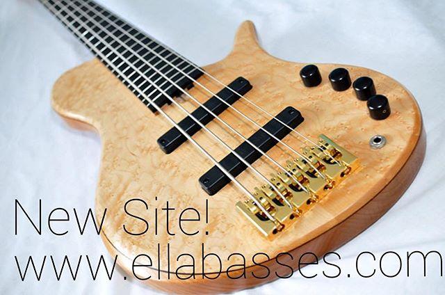 New website!! www.ellabasses.com • #madebyhandplayedbyhand * #ellabass * * #blackwalnut #bloodwood #maple #wenge #woodworking #luthier #bassguitar #custombass #custombassguitar #notreble #bassforward #bassplayersunited #bassplayermag @bassplayunited @bassplayermag @bass.forward @basstheworld