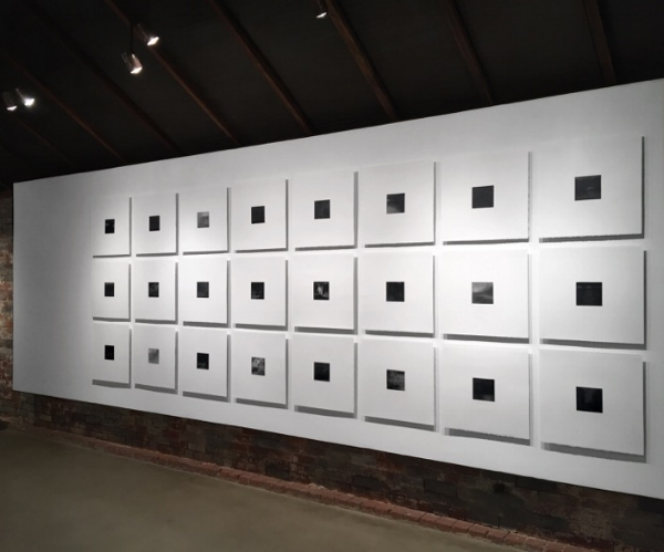 Wall of Seana Reilly's  Nocturnes, Photo Credit: Whitespace