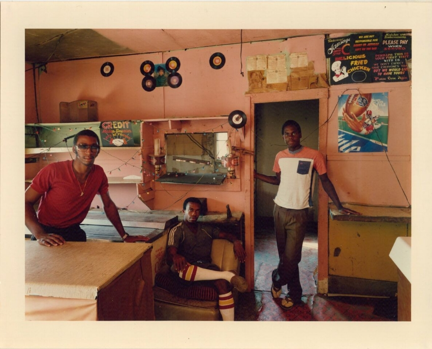 Birney Imes, The Playboy Club, Louise , 1983. Chromogenic print; 30x40 inches (76.2x101.6 cm). Courtesy of the artist and Jackson Fine Art, Atlanta, Georgia  ©  Birney Imes