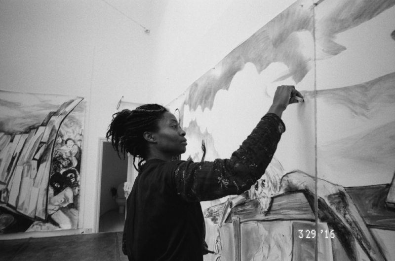 Works in process, 2016. Kara Walker (American, born 1969). Courtesy Kara Walker. Photo: Ari Marcopoulos