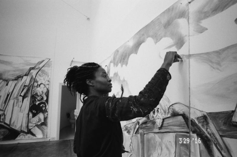 Works in process, 2016. Kara Walker (American, born 1969). Courtesy Kara Walker. Photo: Ari Marcopoulos