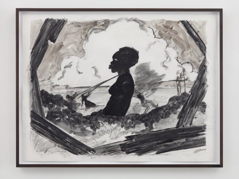 Monomentality , 2016. Kara Walker (American, born 1969). Ink on paper; 90.8 x 120.7 cm. © Kara Walker, courtesy of Sikkema Jenkins & Co., New York