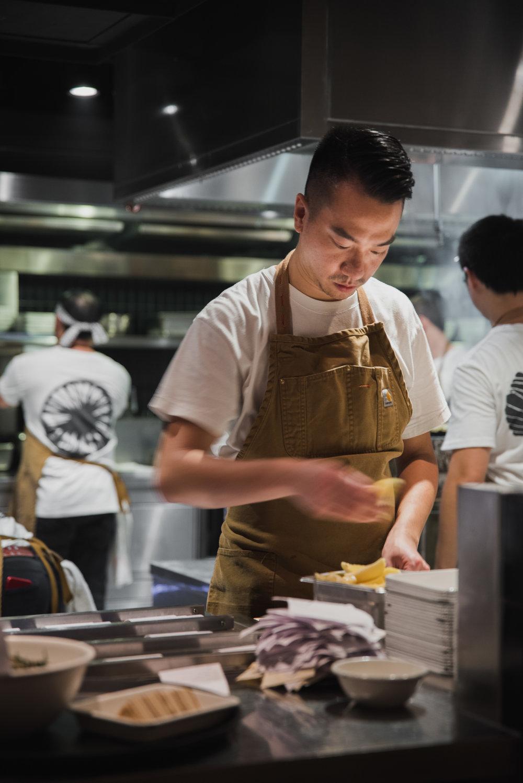 Nick chan - Born: Hong KongClaims to fame: YardbirdSpecialty cuisine: YakitoriFavourite ingredient: Chicken
