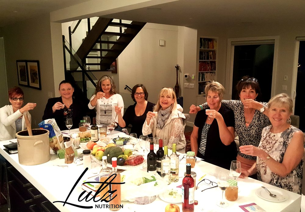 Private Fermentation party for ladies in Peachland, BC