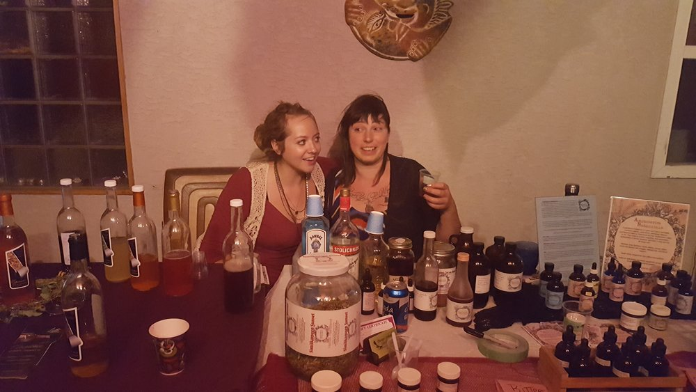 Kombucha Tasting Summer of Love party, Cawston, Summer 2017