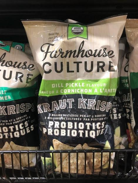 2018 Update…. probiotic potato chips!
