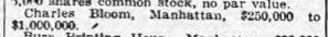 NYT 10 Jan 1923