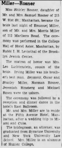Brooklyn Eagle 6 Jan 1941