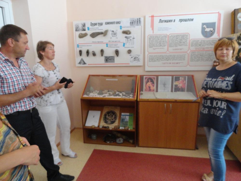 Principal, Assistant Principal and history teacher Svetlana Yushkevich.