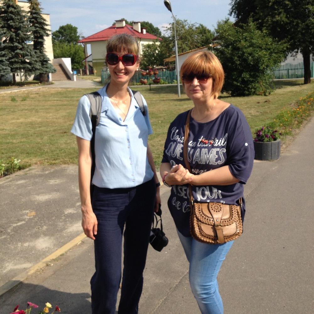 Katya and Svetlana.