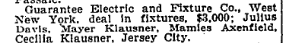 Guarantee Electric. NYT 16 Sept 1916