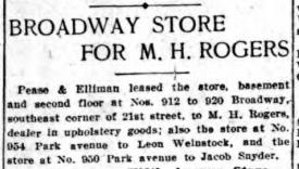M. H. Rogers. Herald 16 Oct 1916