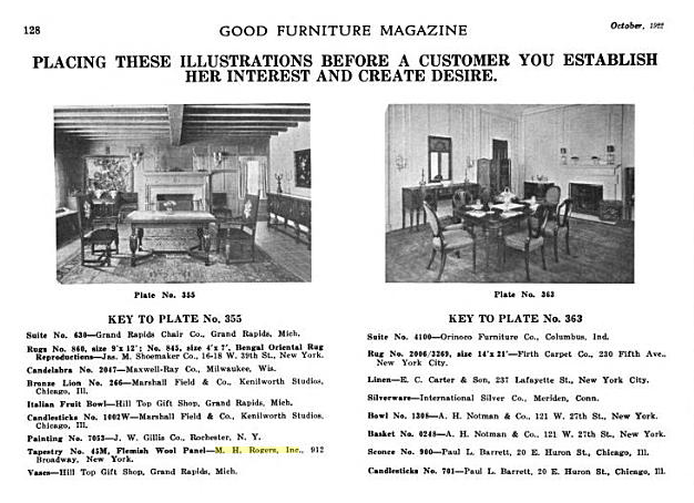 Good Furniture Magazine Oct 1922
