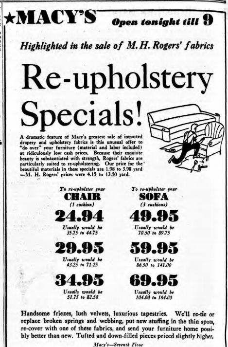 MH Rogers - Macy's ad Sun 24 Oct 1935