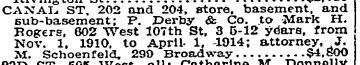 Mark Rogers Canal Street. NYT 10 Dec 1910