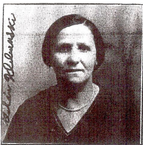Goldie Angenitski Klebanski 1936
