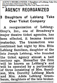 NYT 12 Jan 1945