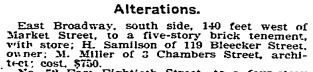 E Broadway, NYT 25 Feb 1902
