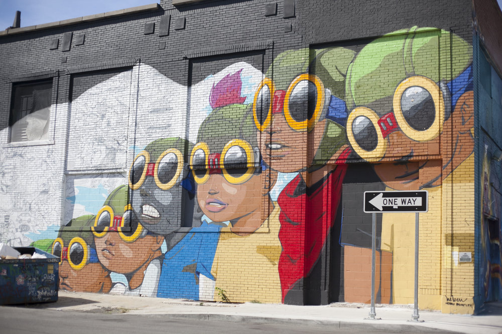 Hebru Brantley- Chicago, Illinois