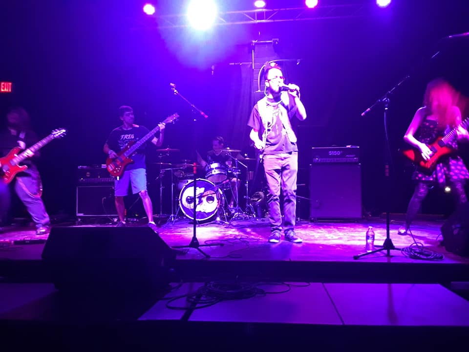 Discovery of an Afterlife performing at The Mid-Summer Throwdown Saturday August 18, 2018