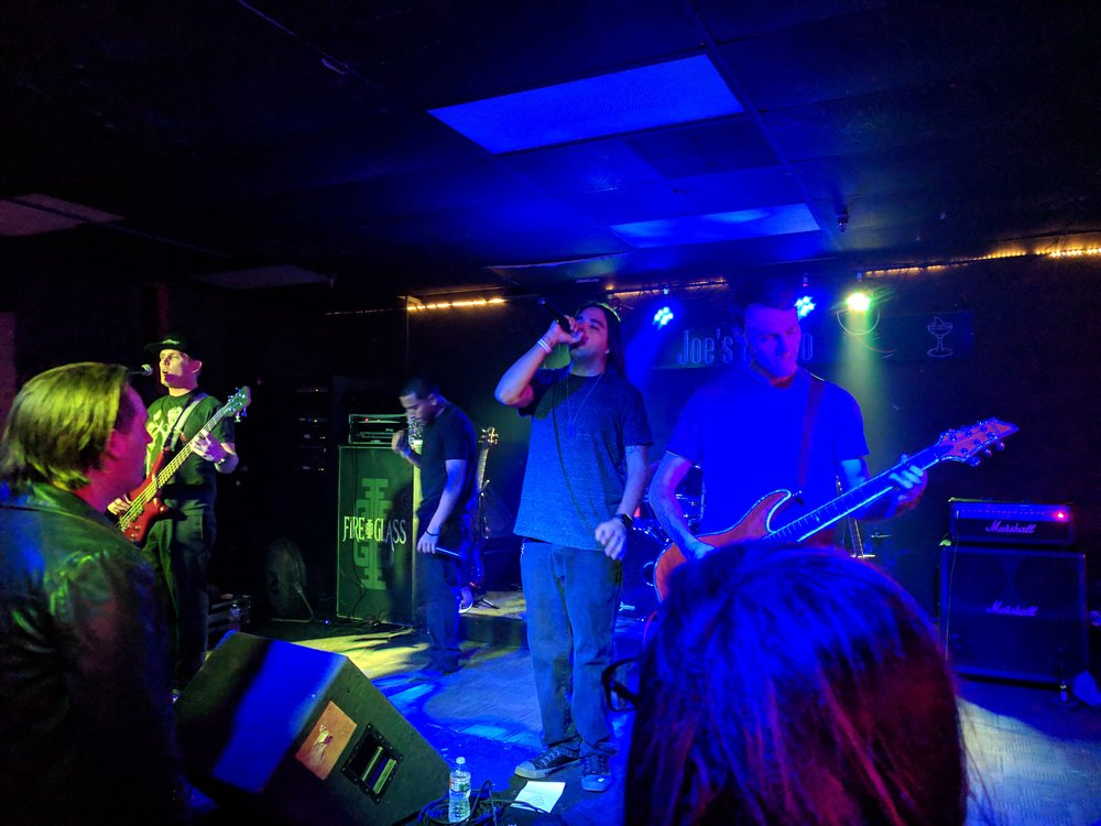 FireGlass performs live at Joe's Grotto Feb 9, 2019
