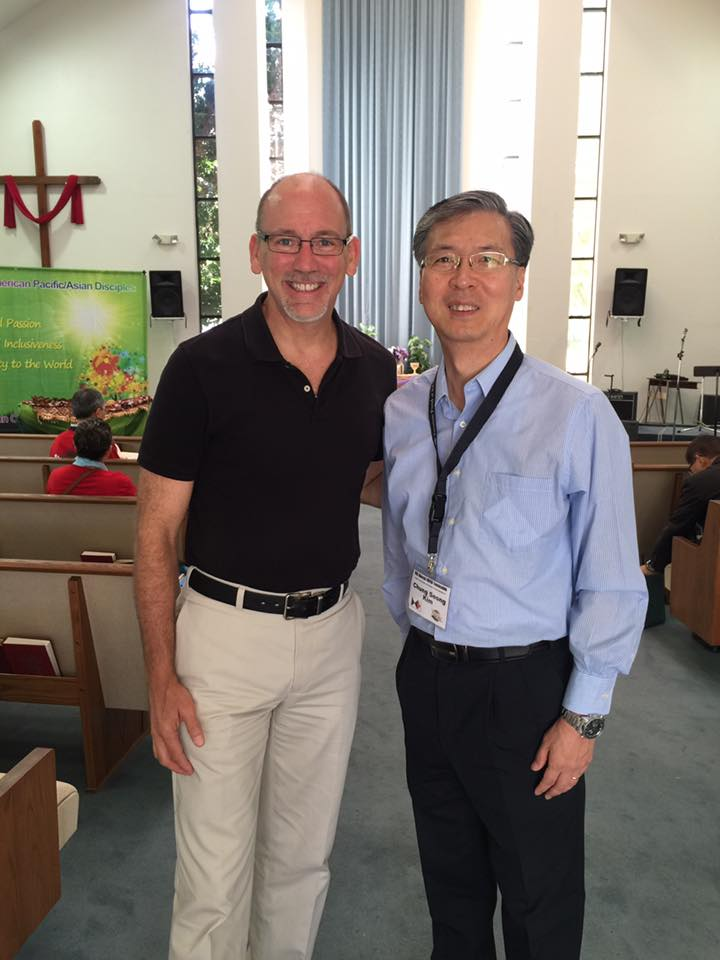 Rev. Allen V. Harris & Rev. Chung Seong Kim